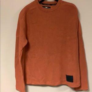 Harley Davidson Orange Sweater